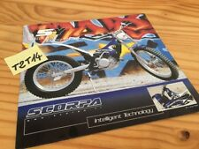 Scorpa yamaha SY 2002 trial prospectus brochure prospekt pub