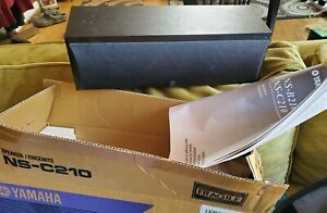 Yamaha Center Speaker Black NS-210 Series NS-C210BL Home Audio Black