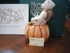 Harmony Kingdom Pumpkinfest Uk Made Marble Resin Box Figurine Nib