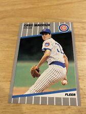 1989 Fleer Greg Maddux Chicago Cubs #431