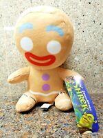 NEW Shrek Gingerbread Man Plush Toy Factory Gingy Stuffed Doll Figure Movie 2 3