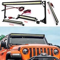 Für TRAXXAS 1/10 Wrangler RC Crawler Auto Zubehör Metall LED Lampe Scheinwerfer