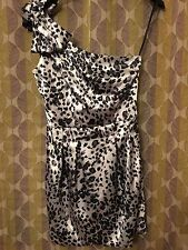 B.SMART (JCPenney) One-Shoulder Bow Sheath Party Dress Size 9/10 MSRP$134.00