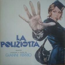 Gianni Ferrio La Poliziotta Four Flies LP Vinyl 1974 Italian soundtrack