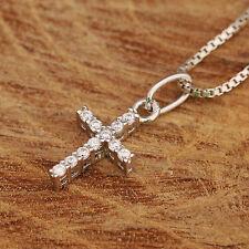 Modeschmuck-Halsketten mit Zirkonia-Perlen für Kinder