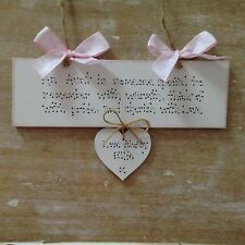 Personalised Auntie, Aunt Great Auntie Gift Sign Birthday Christmas Gift