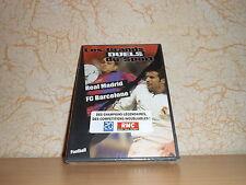 dvd football LES GRANDS DUELS DU SPORT : REAL MADRID/FC BARCELONE - sous blister