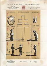 STAMP / SPANISH / ESPAGNE / VIGNETTE AMIGOS DE LA VINETA ANTITUBERCULOSA 1960