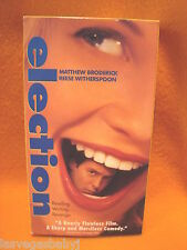 election VHS 1999 ~ Reese Witherspoon & Matthew Broderick ~ MTV Revenge Comedy