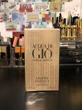 Authentic-New Acqua di Giò Absolu Instinct Eau de Parfum 2.5 Fl.Oz Orig $100