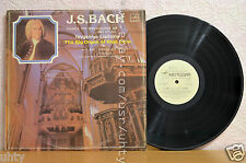 Y.LISITSINA Piano Big Organ Riga Dom J.S.BACH BWV 657-664 LP Russian Melodiya LP