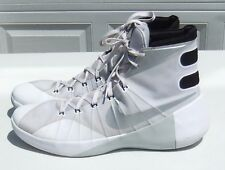 Nike Hyperdunk 2015 TB White BB Shoes 749645-100 Mens Sz 18 (Excell. Used Cond.)
