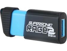 Patriot Memory 512GB Supersonic Rage 2 USB 3.0 Flash Drive, Speed Up to 400MB/s