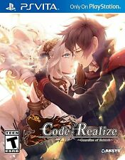 Code: Realize Guardian of Rebirth [PlayStation Vita PSV] Brand New