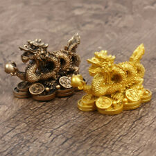 Chinese Zodiac Twelve Statue Gold Dragon Statue Home Decoration Crafts Feng Shui
