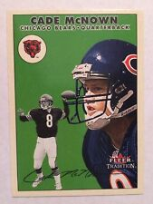 2000 Fleer Tradition #15 - Cade McNown - Chicago Bears