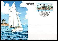 Finland / Aland - 1990 Postal stationary sailing