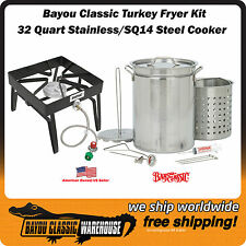 Steel Cooker Turkey Fryer Complete Stainless Steel Stockpot and Accessories