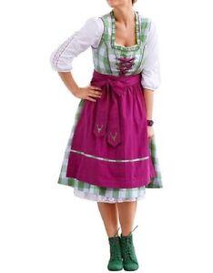 Farbenfrohes Dirndl Sheego Style Kleid + Schürze HEINE Gr. 40, 42, 44, 46, 50