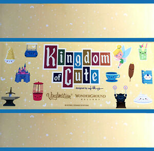 Disney Kingdom of Cute 2017 Vinylmation Figures Jerrod Maruyama You Pick from 6