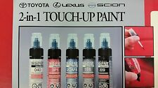 LEXUS GX460 TOUCH UP PAINT TUBE COLOR CODE 1H9 NEBULA GREY PEARL