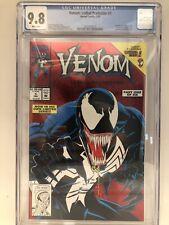 Venom Lethal Protector Issue # 1 CGC 9.8 NM/MT Marvel Comic 1993, Movie 9/2021