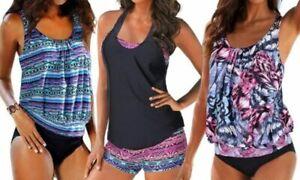 Damen Tankini Set Oberteil Badeanzug Sports  in dem Modell nach Wahl