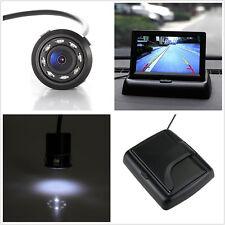 "12V IR 8LED Car Reversing CCD Camera & 4.3"" TFT LCD Foldable Monitor Display Kit"