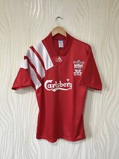 LIVERPOOL 1992 1993 HOME FOOTBALL SHIRT SOCCER JERSEY ADIDAS VINTAGE