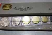1964 France Mint Set Fleurs de Coins In Box SILVER Uncirculated 5 Franc see pic
