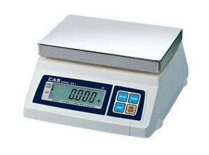 NEW CAS SW-1-20 SW Series Portable Digital Scale 20 lb x 0.01lb Legal for Trade