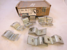 LOT OF 10 UNISTRUT P3045 EG  2 HOLE Z SHAPE FITTING  (PS711, B106-32)  P3000