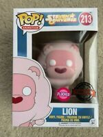 Lion Flocked Steven Universe Funko Pop Vinyl New in Mint Box + Protector