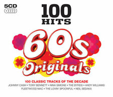 100 HITS 60'S ORIGINALS 5-CD ALBUM SET