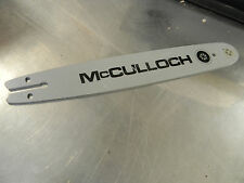 "BAR 14"" 1/4 .050 FOR MCCULLOCH CHAINSAW 6A 2.1 110 120 130 310 320 330"