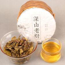 Handmade Pu-erh Tea 100g Raw Pu'er Tea Ecology Old Tree Organic Green Sheng Puer