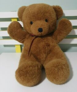 DAKIN TEDDY BEAR CUDDLES 1979 BROWN BEAR 45CM