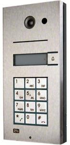 2N - Videocitofono Helios IP, Apriporta, 1 tasto, SIP/ Proxy, PoE (9137111CKU)
