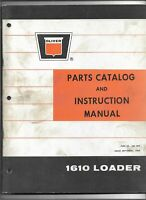 Original OE Oliver Model 1610 Loader Instruction Manual and Parts Catalog 432540