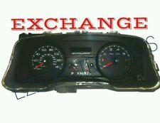 2006 FORD CROWN VICTORIA INSTRUMENT CLUSTER EXCHANGE  6W73-10849-CK