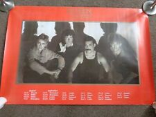 QUEEN THE WORKS ORIGINAL 1984 EUROPEAN TOUR POSTER