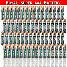 120/240 pc Aaa Batteries Extra Heavy Duty 1.5v. Wholesale Lot Super Aaa Battery