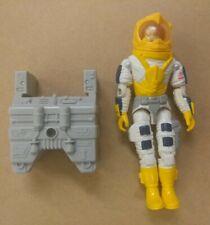 1987 GI Joe Payload Defiant Pilot Astronaut RARE w/ Backpack