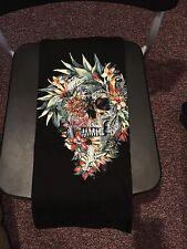 Teefury Men's XL Black T-Shirt Momento More Skull Original Art  **FIXED PRICE**