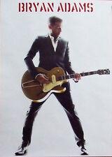 BRYAN ADAMS colour portrait guitar Large POSTER new rare !!!