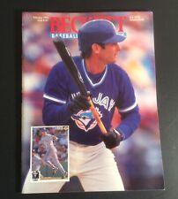 Beckett Baseball Card Monthly February 1994 #107 Paul Molitor Cover