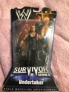 "WWE RARE, GENUINE MATTEL FIGURE:""SURVIVOR"" SERIES. BOXED, UNOPENED: UNDERTAKER!!"