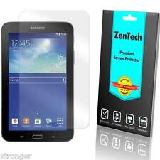 2X ZenTech Clear Screen Protector Guard Shield For Samsung Galaxy Tab 3 Lite 7""