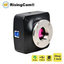 20MP 60fps SONY IMX183 1inch sensor USB3.0 color digital microscope Camera