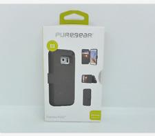 New OEM PureGear Express Folio Black Case For Samsung Galaxy S7